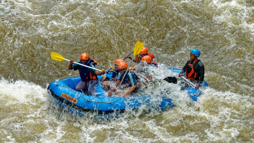 Rafting in Kullu