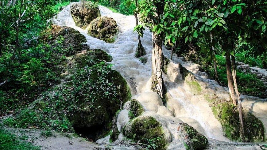 Bua Thong Sticky Waterfalls